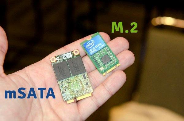 مقایسه M SATA با M.2 SATA