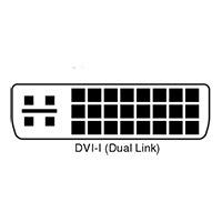 درگاه DVI-iدر نوع Dual link