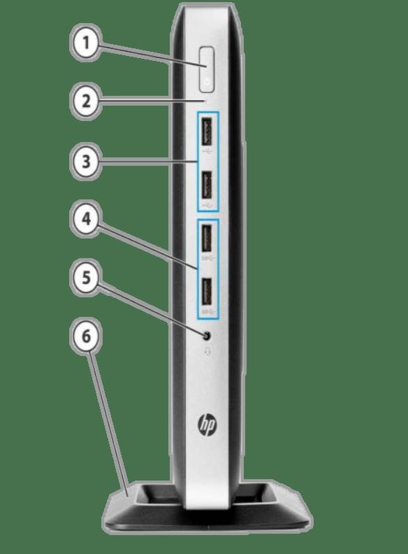 تینکلاینت HP T630