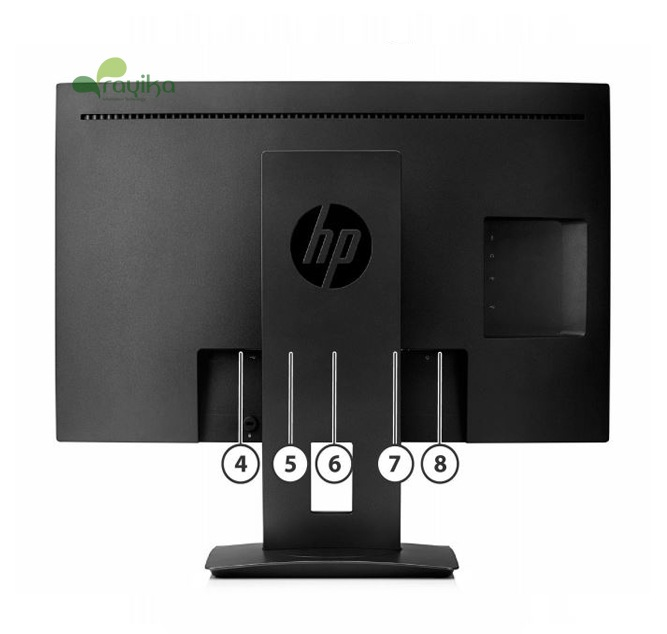 معرفی پورت های زیروکلاینت All in one HP T310 G2