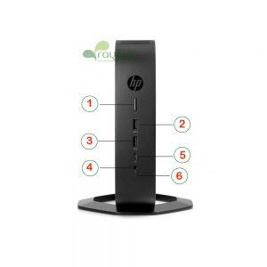 معرفی پورت های HP T740