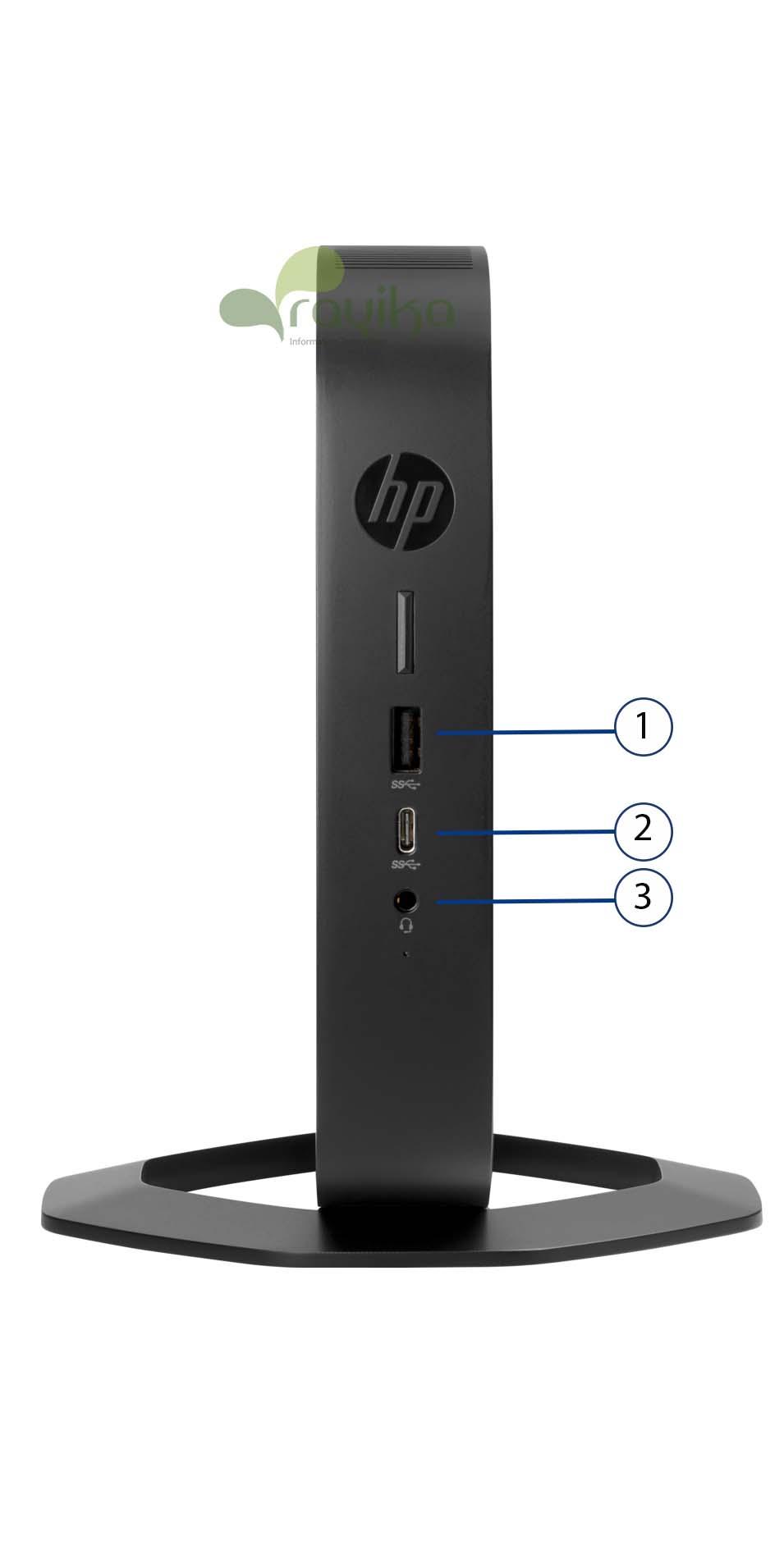پورت های تینکلاینت HP T540
