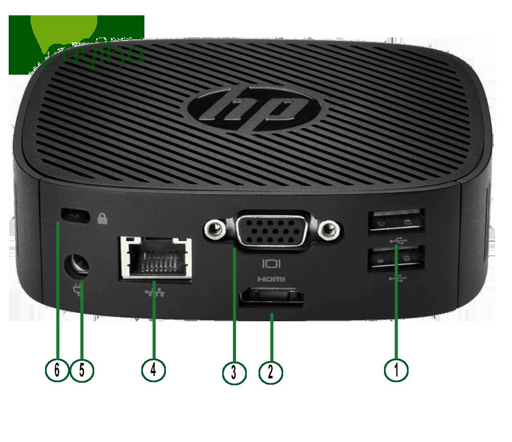 پورت های تینکلاینت HP T240
