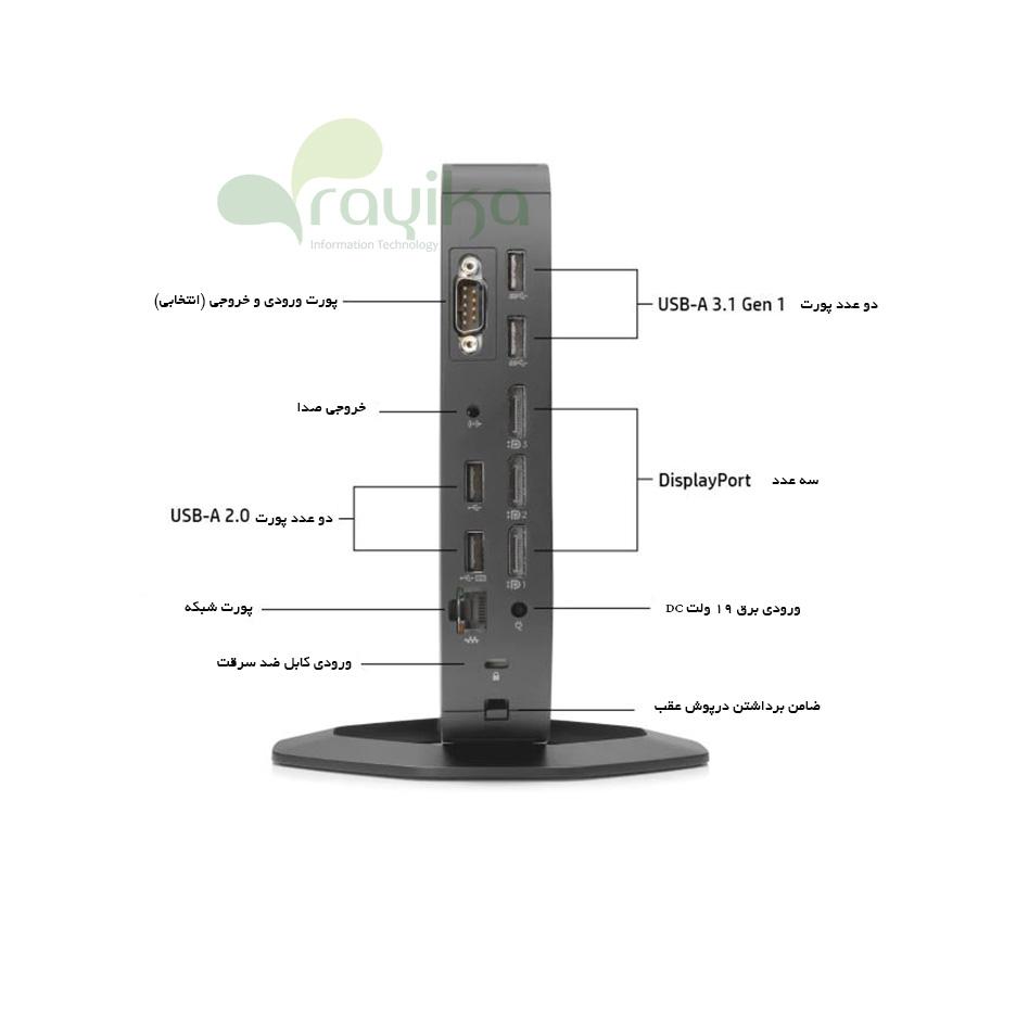 پورت های تینکلاینت HP T640
